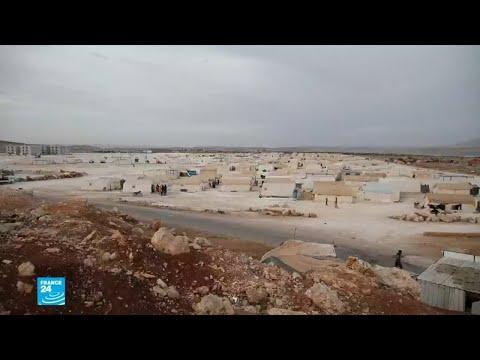 اقتراب فصل الشتاء يزيد مصاعب النازحين في مخيمات إدلب السورية  - 14:54-2018 / 10 / 22