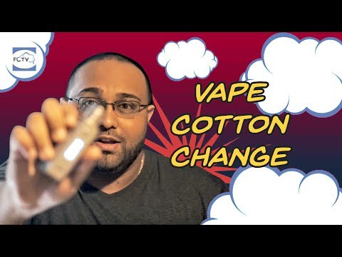 Vape Cotton Change