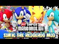 Sonic in New Super Mario Bros Wii - Mod Mondays