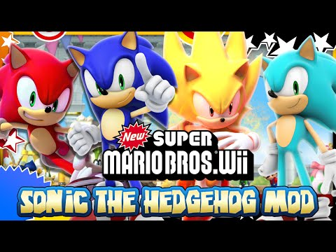 Sonic in New Super Mario Bros Wii - Mod Mondays
