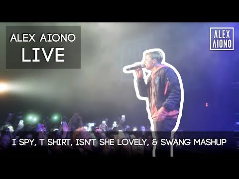 Live I Spy, T Shirt, Isn't She Lovely, & Swang MASHUP | Alex Aiono