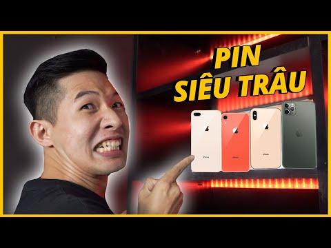 TOP NHỮNG CHIẾC iPHONE PIN TRÂU NHẤT, GIÁ NGON NHẤT HIỆN NAY!!!
