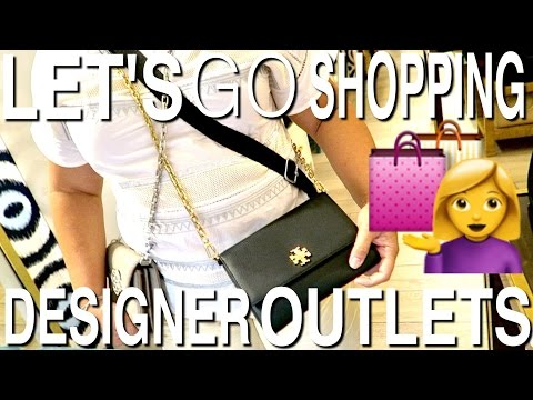 SHOP WITH US! DESIGNER OUTLET ED. FT. JCREW, RALPH LAUREN, AND TORY BURCH! PART 1