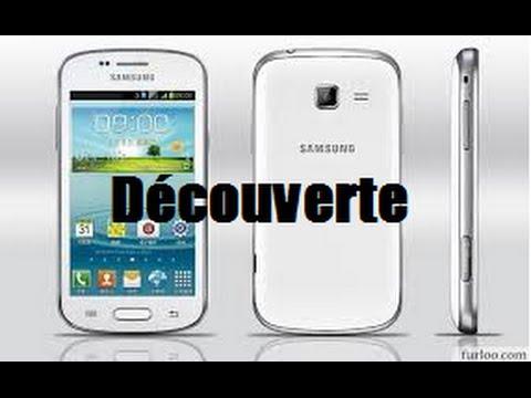Teste et découverte du Samsung Galaxy Trend / HD FR.
