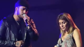 Si je m'en sors, Julie Zenatti et Slimane @ concert entre amis, Chambéry - 09.06.2017