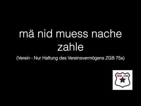 Verein ZGB 60 und  Stiftung ZGB 80