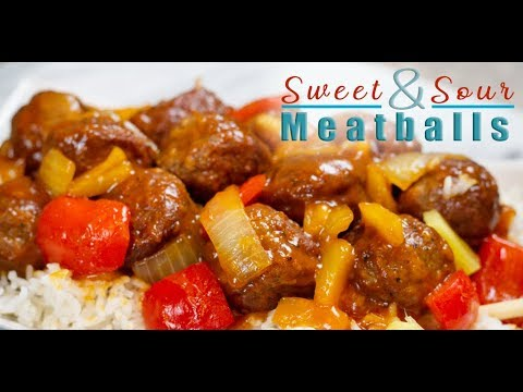Sweet And Sour Meatballs | Devour Dinner