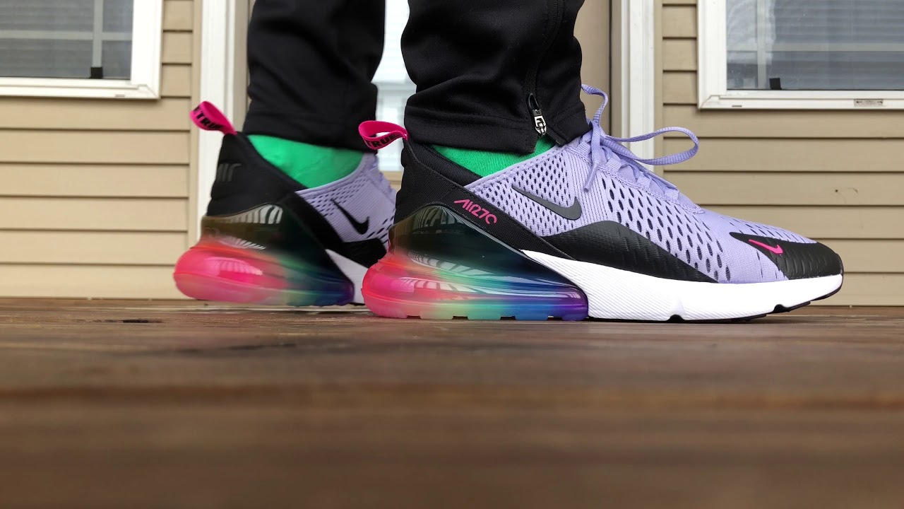 outlet store e3597 41892 Nike Air Max 270 BETRUE for LGBTQ Pride Month ON FOOT LOOK!