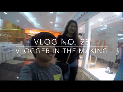 Vlog No. 28 - Vlogger in the Making | Discovery Mall, Play Kuwait, Dip N Dip