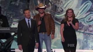 (HD) Jason Aldean ft Kelly Clarkson - Don't You Wanna Stay Live American Idol Vocal Showcase