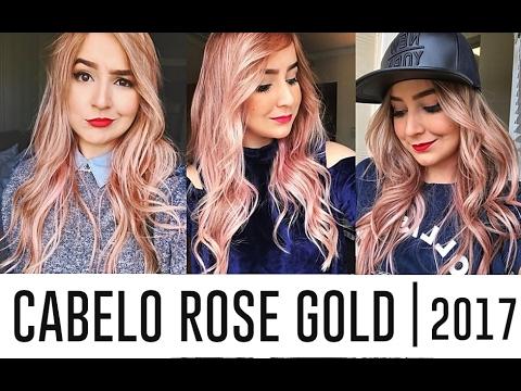 COMO EU FIZ O ROSE GOLD EM CASA | Menos de R$ 40,00