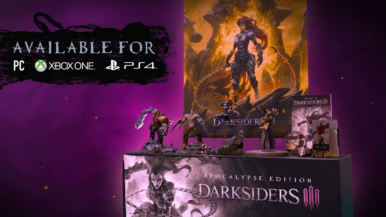 Darksiders III' Physical Editions Announced, Detailed - Bloody