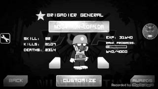 Mini militia rank hack !!