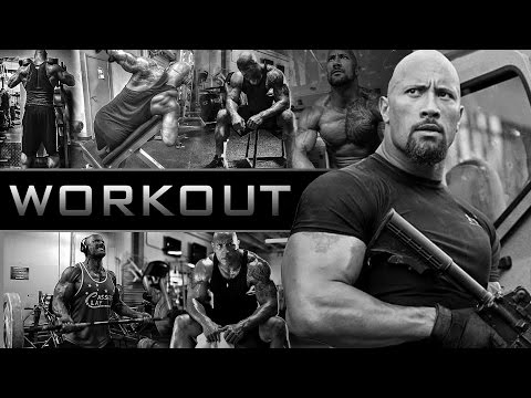 Dwayne The Rock Johnson | Workout Video Training 2016