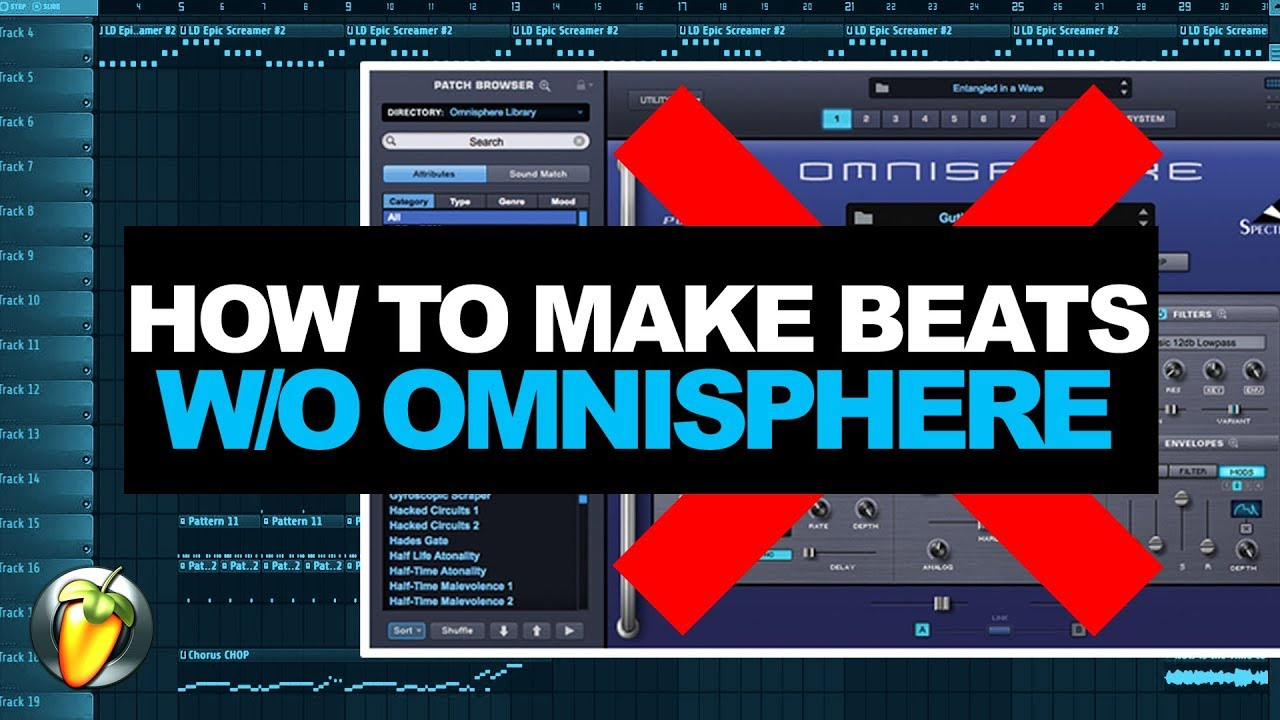 How To Make A Trap Beat In 2017 Without Omnisphere Fl