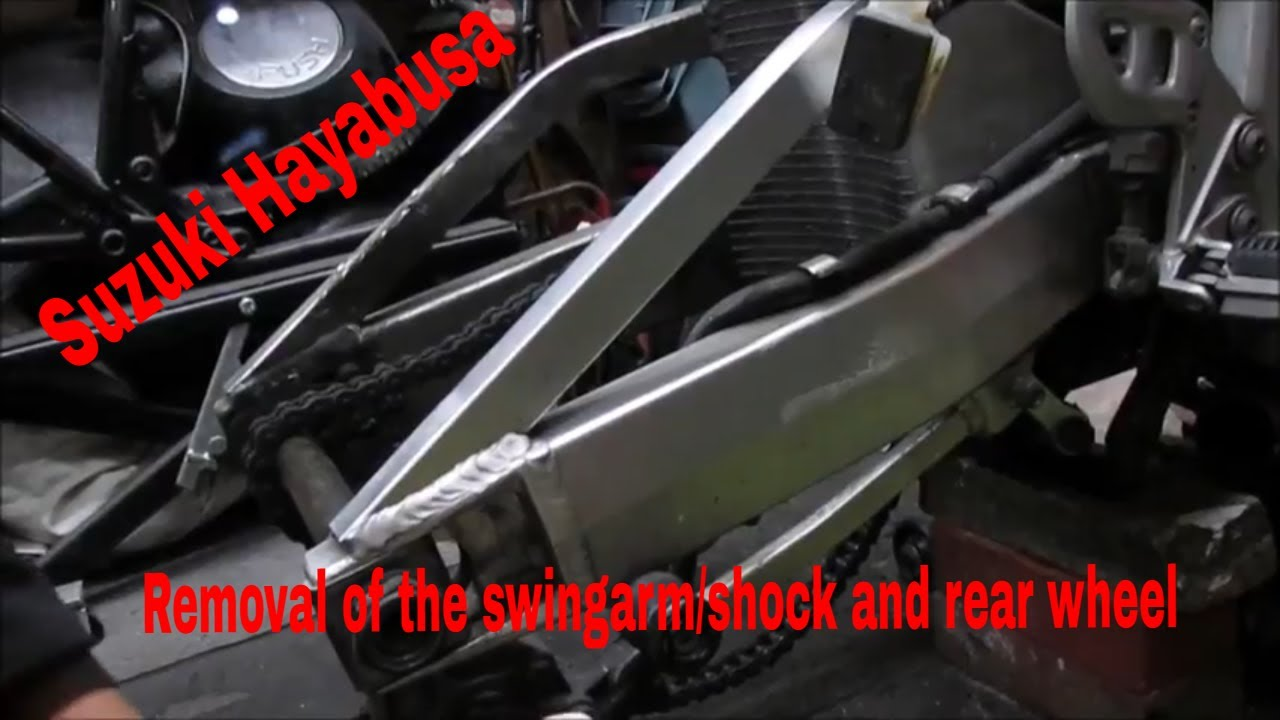 Suzuki Hayabusa - Part 36 - Disassembly of The Rear End #1