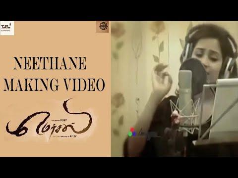 MERSAL Making video - Neethane - AR Rahman | shreya Ghosal | Atlee