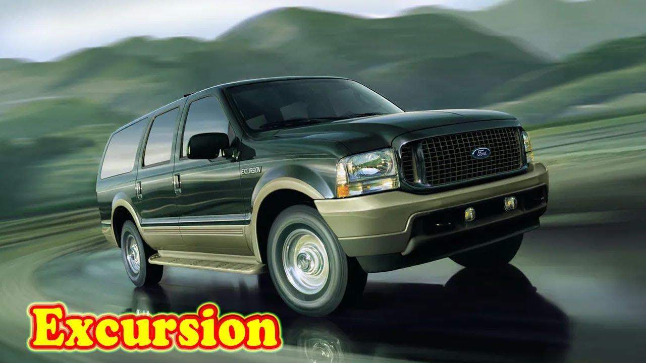 2021 Ford Excursion Diesel Concept