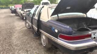 1993 Buick Roadmaster sedan at Budget U Pull It junkyard in Orlando, FL