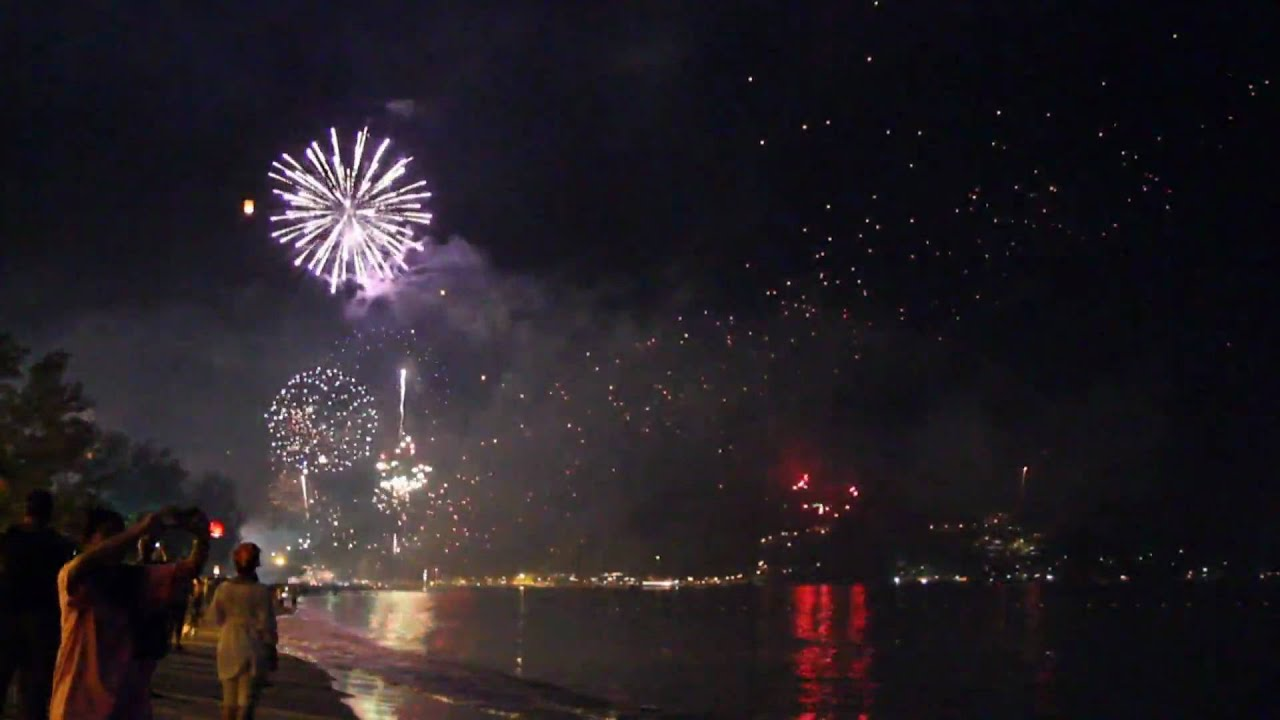 New year 2010 silvester patong beach phuket thailand for Silvester youtube