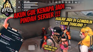AKUN LETDA DI HACK KE SERVER THALIAND ?? AYAM SO SED :(