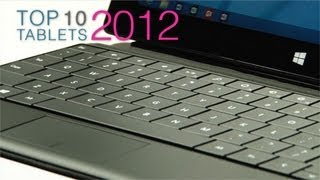 Top 10 tablet PCs of 2012 / 2013