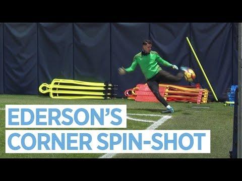 EDERSON SPIN-SHOT & AGUERO MEGS KDB! | Skills Galore in Training