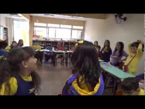 Vídeos sobre a escolha da Casa Nova da Trilhas! 3ºano