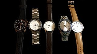 Five New Watches Arrived! Dive And Dress Watches