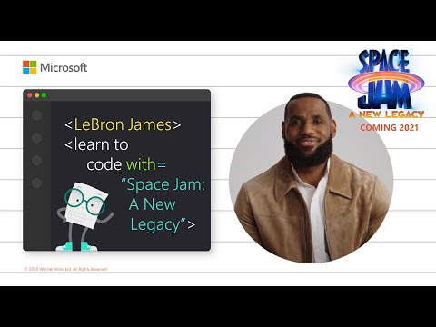 LeBron James | Learn to Code with Space Jam: A New Legacy