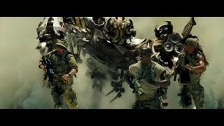 Transformers (2007) Fighting Scorponok with Sabot Rounds 720p HD