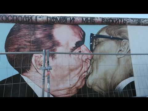 Berlin Wall East Side Gallery, Berlin, Germany