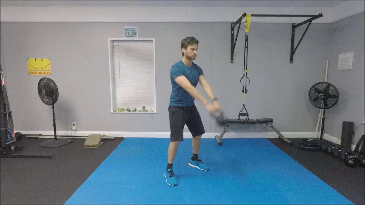 kettlebell swing o balanceo con pesas rusas