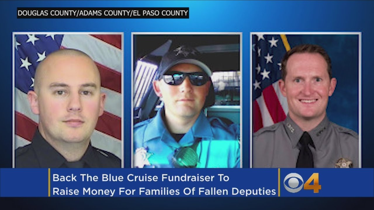 Organized Drive 'Back The Blue' Will Raise Funds For Recently-Slain Deputies' Families