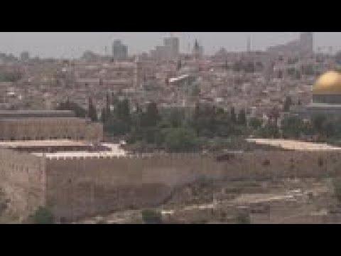 Muslims Attend Ramadan Prayers In Jerusalem