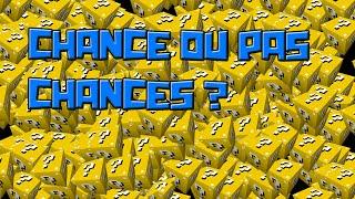 Minecraft|Lucky Défi - Au début on etait bien posey et c