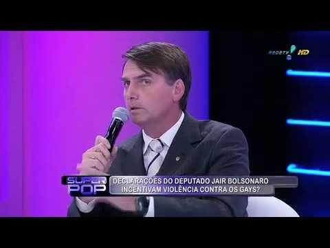 Bolsonaro: usando homofobia para aparecer há mais de 30 anos. (Foto: Reprodução / Rede TV!)