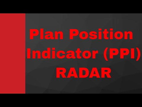 Plan Position Indicator (PPI) (RADAR Display) by Engineering Funda (RADAR Engineering, Microwave)