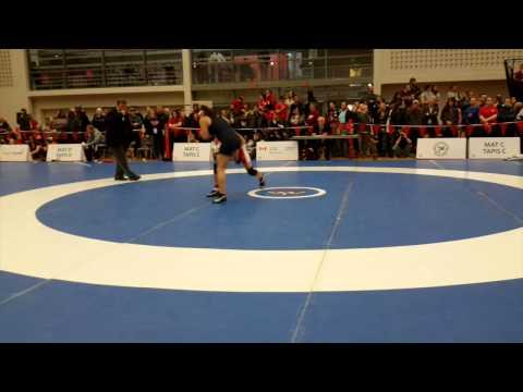 2015 Senior National Championships: 53 kg Brittanee Laverdure vs. Aliosha Perriard-Abdou