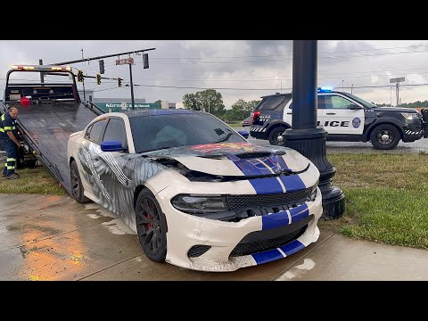 RAPPERS FINALLY WRECKED MY HELLCAT? *ITS OVER*