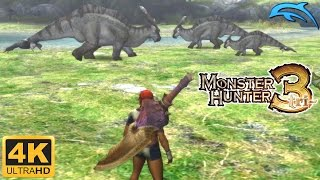 Monster Hunter 3 - Gameplay Wii 4K 2160p (Dolphin 5.0)