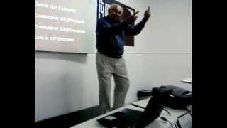 """Paulo Lopo Saraiva falando sobre o """"Ai se eu te pego""""."""