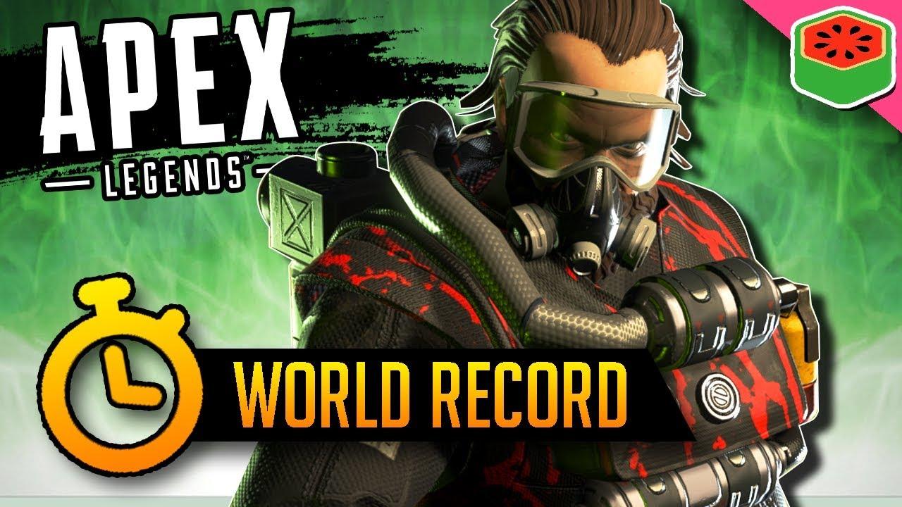 WORLD'S FASTEST WIN! | Apex Legends
