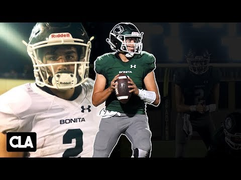JP Andrade 6'3 200 QB Highlights |  4,366 Yards Passing, 38 TD (Bonita High School)