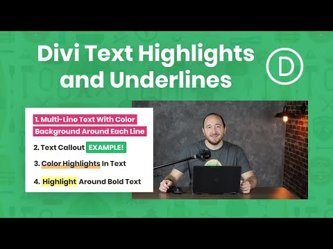 How To Add Text Highlights, Accents, And Underlines In Divi