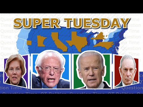 Super Tuesday Live Results and Analysis   QT Politics
