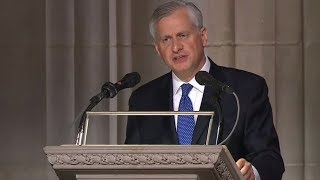 Jon Meacham delivers eulogy for HW Bush funeral [FULL VIDEO]