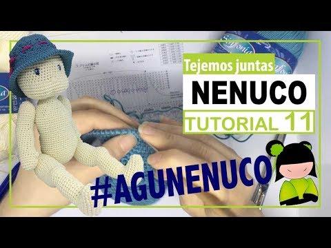 Nenuco amigurumi 11 | Hoy como unir piernas articuladas | TEJEMOS JUNTAS?