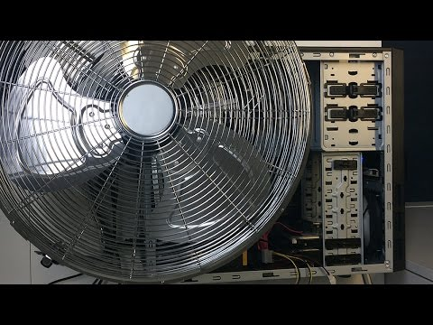 Will This BIG Fan Help With Cooling? Twin 280X Ethereum Miner