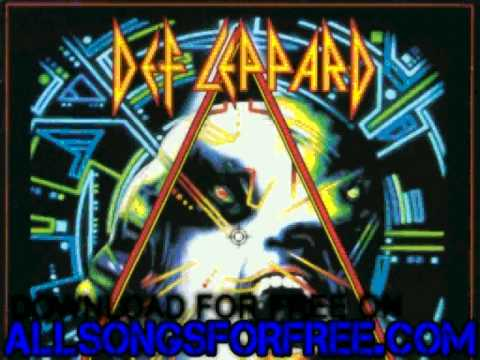 def leppard - Pour Some Sugar On Me - Hysteria